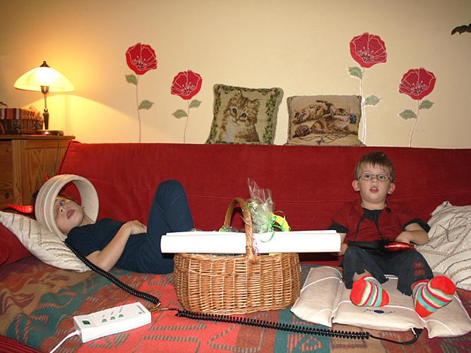 Rodina Goldsmithových pro děti s DMO a ADHD