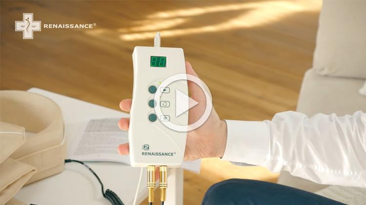 Ovládání řídící jednotky DUO COMFORD k magnetoterapeutickému přístroji Renaissance