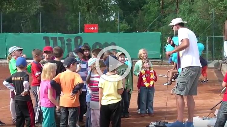 Projekt Renaissance pomáhá dětem: Tenisové setkání dětí z Kociánky