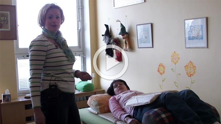 Ukázka aplikace pulzní magnetoterapie, Stacionář Jihlava