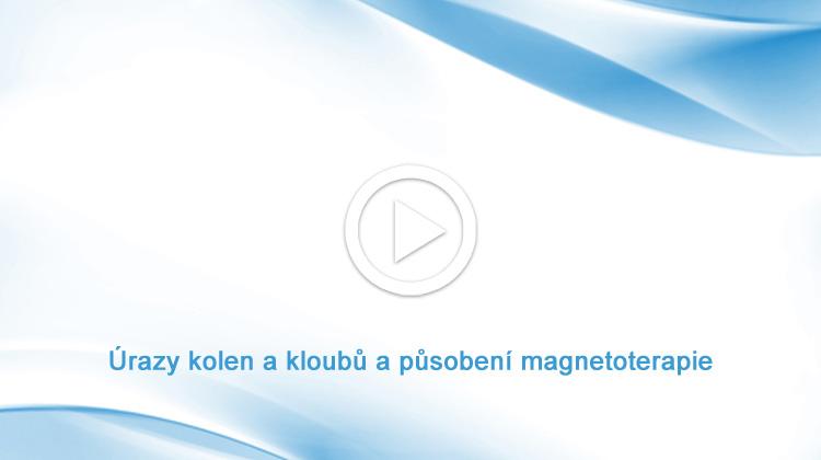 Úrazy kolen a kloubů a působení magnetoterapie